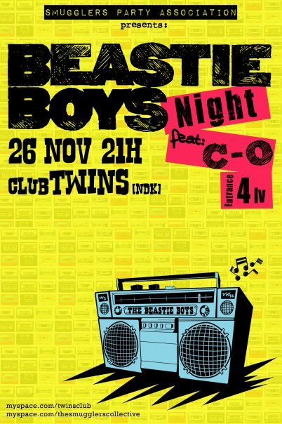 BEASTIE BOYS night
