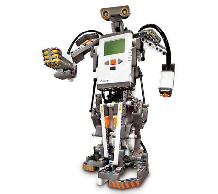 Демонстрация по роботика с лего