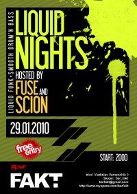 LIQUID NIGHTS with FUSE & SCION