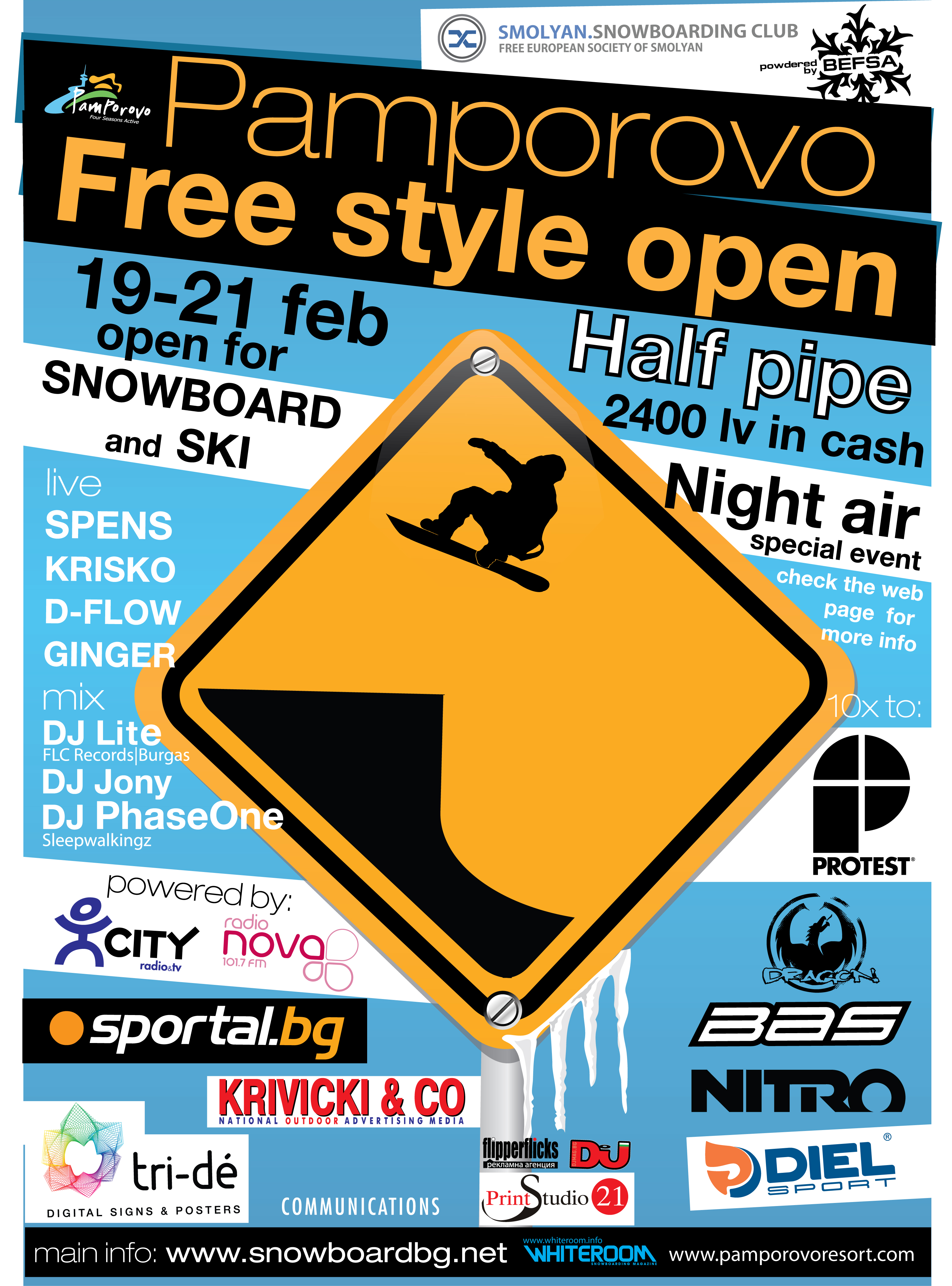 Pamporovo Freestyle Open 2010