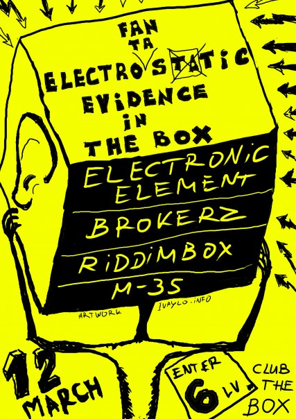 Electrostatic Evidence @ The Box