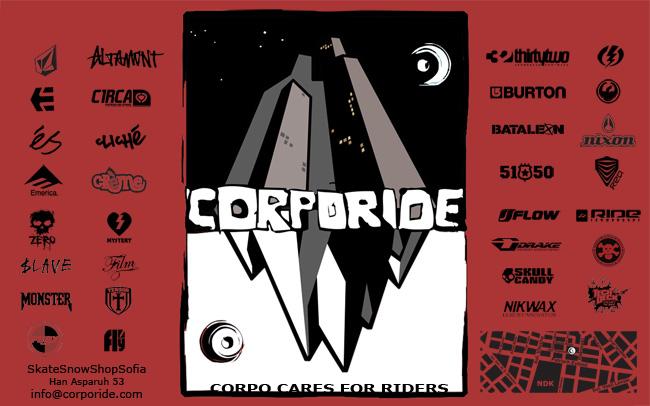 Всички скейтъри в Corporide