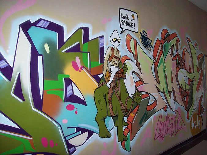 Конкурс за графити срещу цигарите