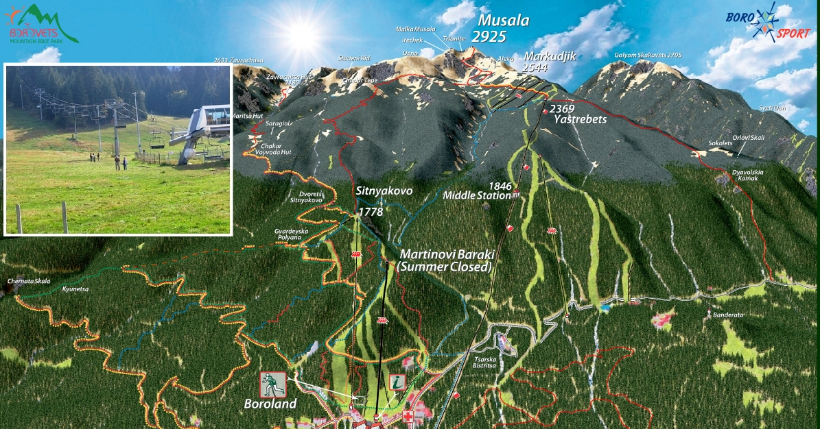 Borovets Mountain Bike Park Opening