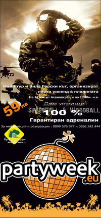 PAINTBALL PARTYWEEK-END