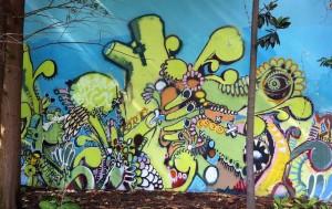 grafiti forest