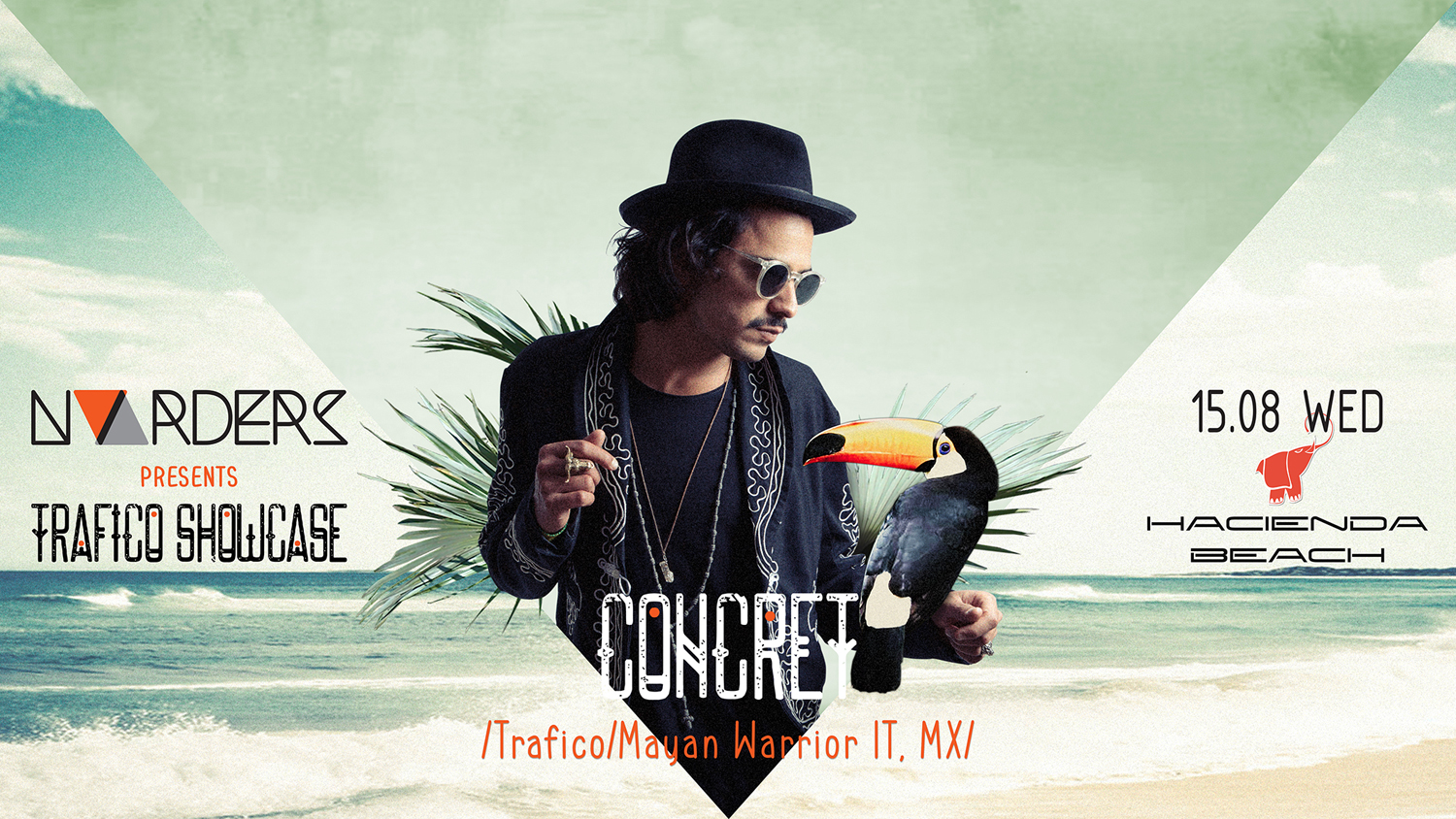 Concret и No Orders x Playa Stories пренасят магията на Burning man в Hacienda Beach