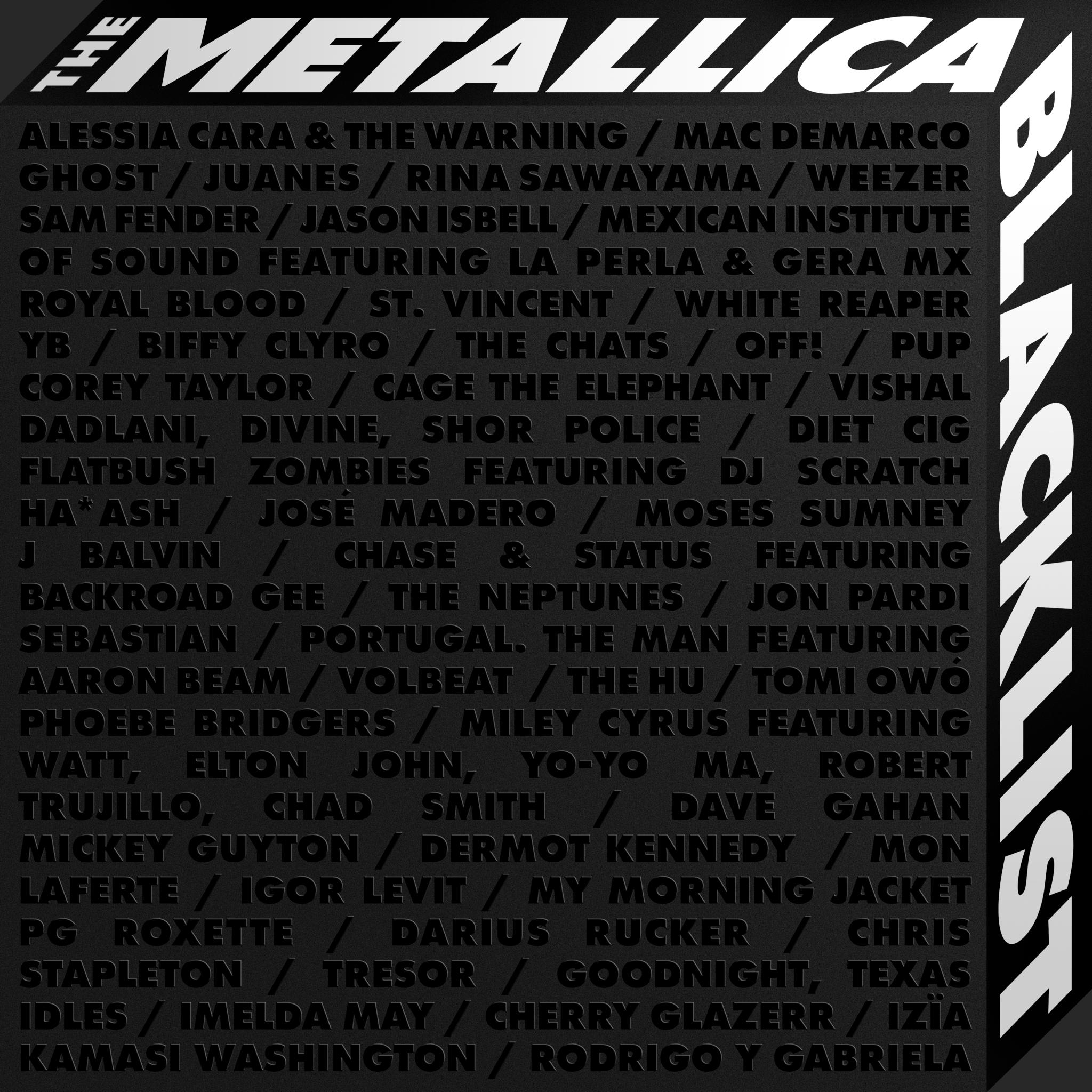 """METALLICA празнуват 30 години от легендарния """"черен""""албум с два  изключителни релийза"""
